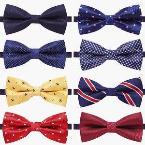 Other - 8 Packs Adjustable Pre-tied bow ties-Men's/Kids